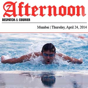 Swimming Workshop on Saturday - 26th April, 2014 - Afternoon Newspaper
