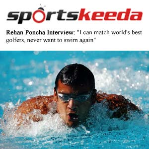 Sports Keeda - I can match world's best golfers, never want to swim again