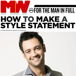How to Make a Style Statement - Man's World, May Issue