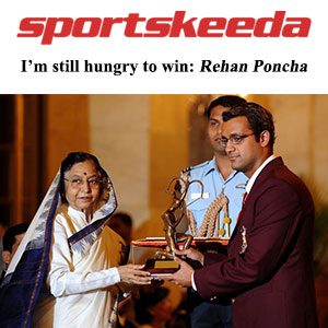 I'm still hungry to win: Rehan Poncha